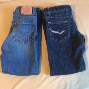 Cool Boys Size 7 Jeans Bundle